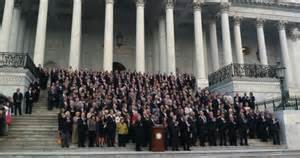 congress singing God Bless America