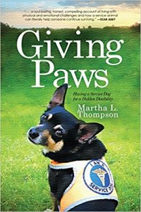 giving paws book