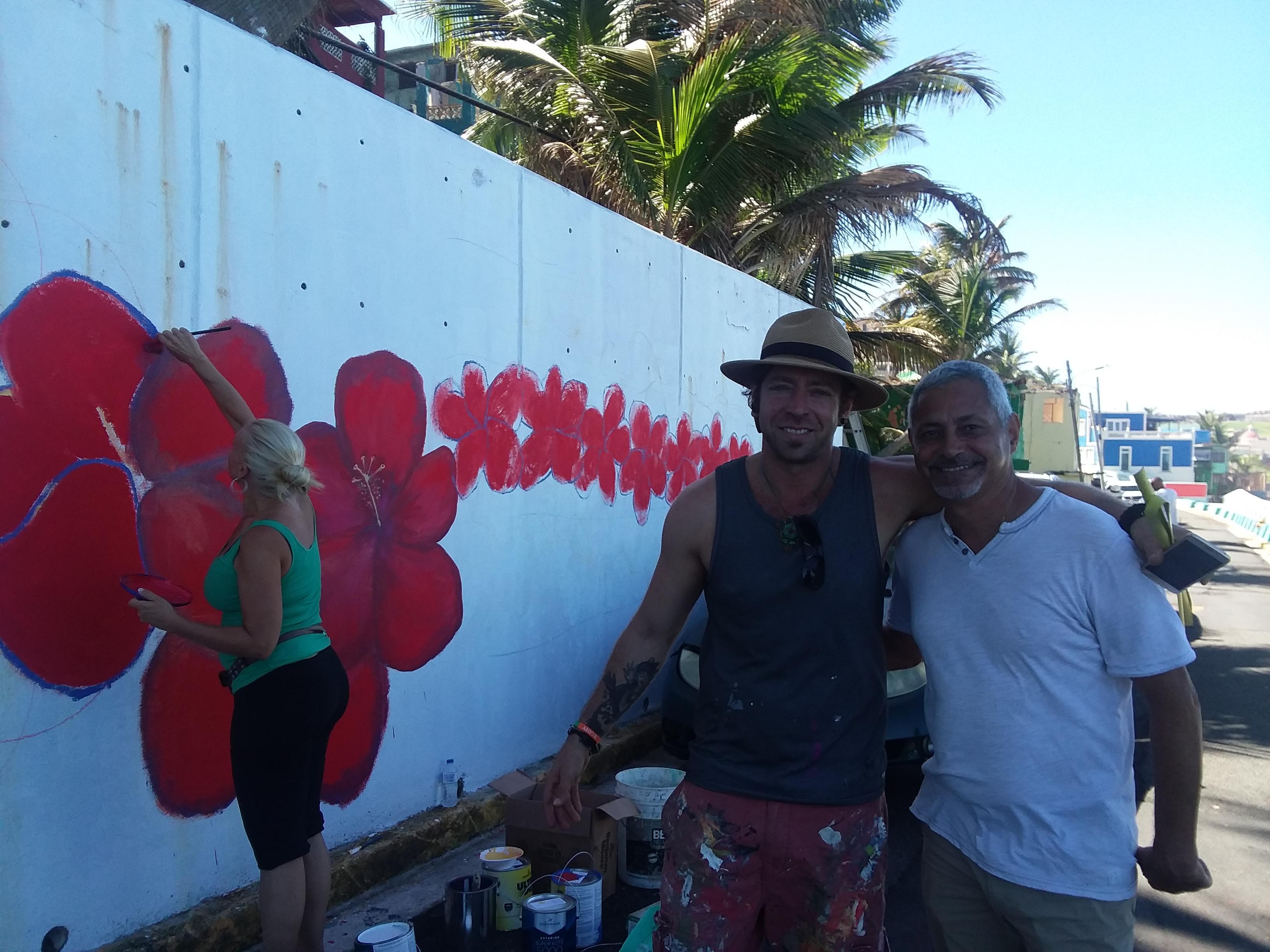 la perla mural artist