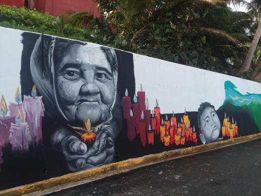 la perla mural