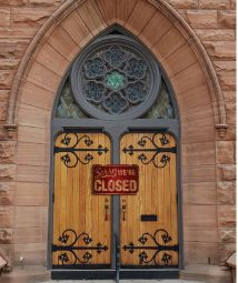 church-closed